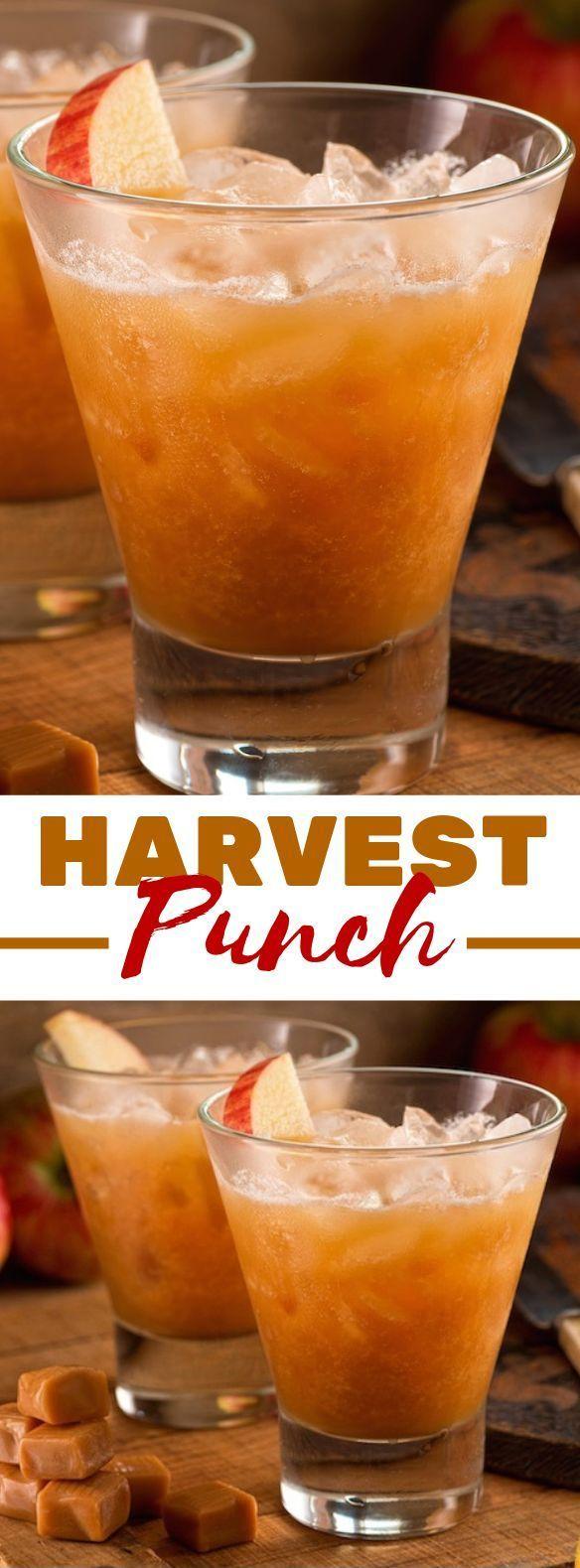 Das BESTE Fall Punch Rezept für Partys #drinks #falldrink #alcoholicpartydrinks