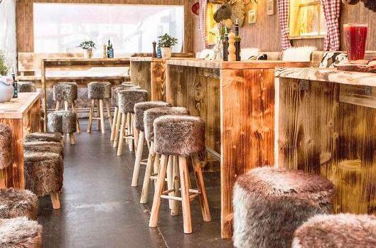 In den Wintermonaten kann man es sich im Restaurant