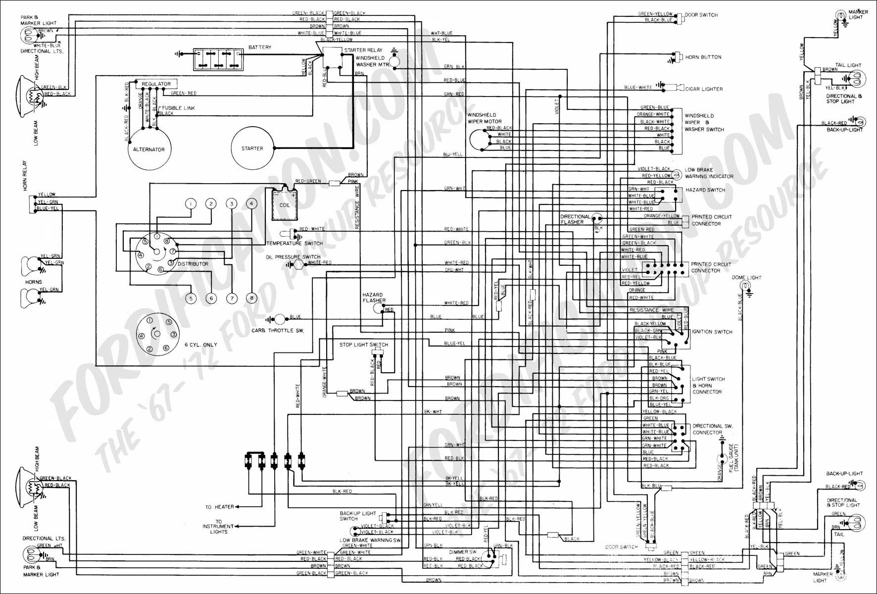 solenoid 1971 f250 | In addition here is a copy of your wiring diagram. I  am sending it in .