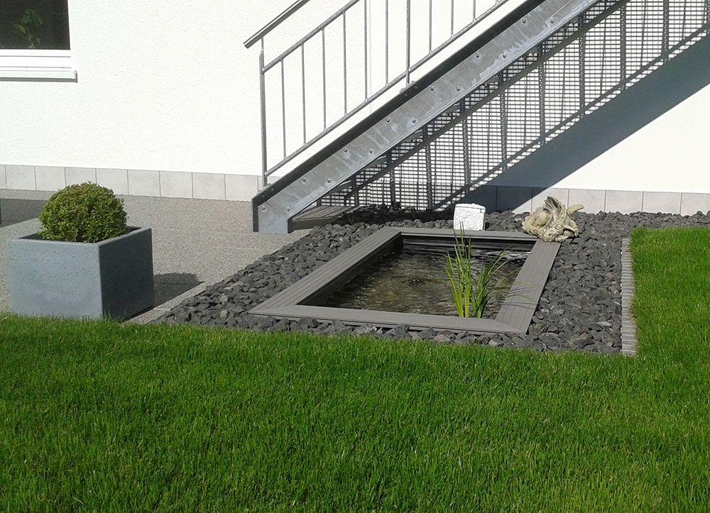 Exklusive Ideen Mit Wasser: Referenzen U0026 Kundenbilder Unserer Projekte.  Einzigartige Gartenbrunnen, Formale Wasserbecken Und Sprudelnde  Garten Wasserfälle.
