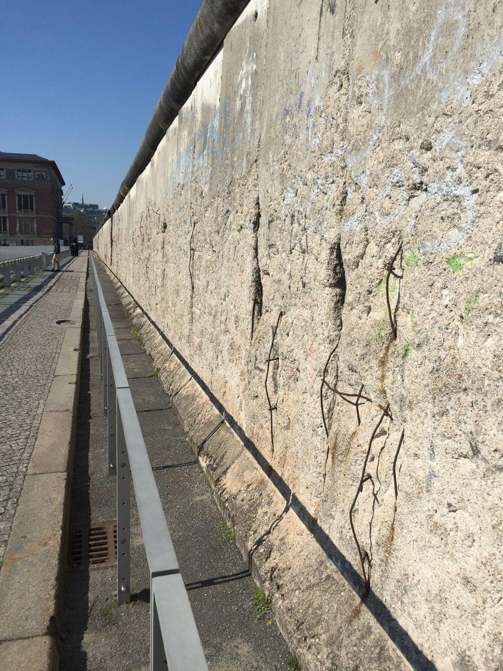 El Muro de Berlin!
