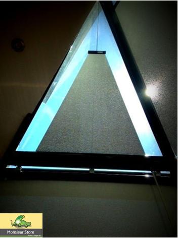 Store Interieur Triangle Veranda Sur Mesure Dubos Verger Store Sur Mesure Store Fenetre Stores