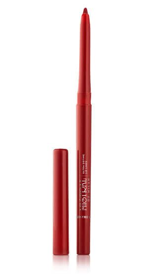 Creamy Soft, Waterproof, Semi-Matte  Finish and Even Colour Pay-Off.  Cherry Red Shade