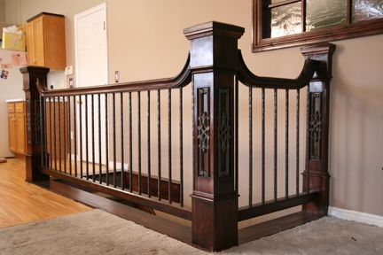 Indoor Wrought Iron Railings | Interior Stair Railing Design | Stair Parts  Industry News