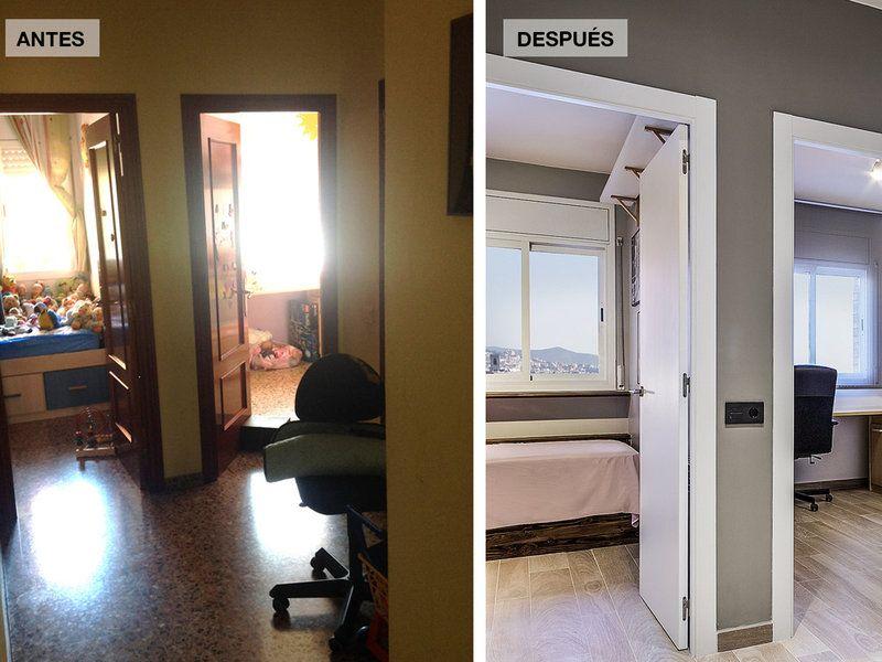 Una reforma completa para ganar amplitud y espacio el for Reforma piso pequeno