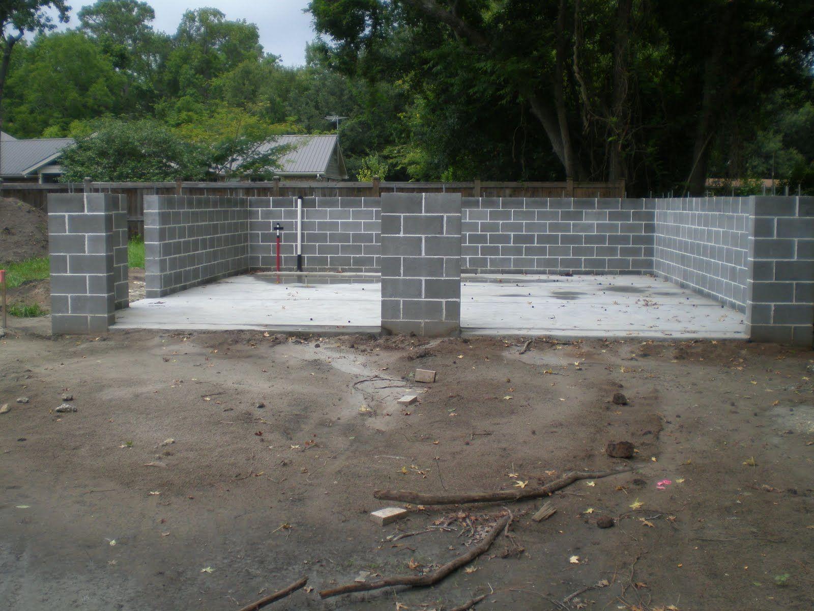 Image Result For Concrete Block Garage Concrete Blocks Concrete Structures