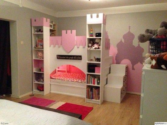 Diese Mutter baute ein IKEA Kura Kinderbett für das ihr ihre ... | {Kinderhochbett ikea 40}