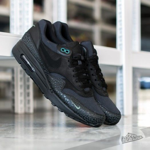 nike air max 1 black quilted leather gucci