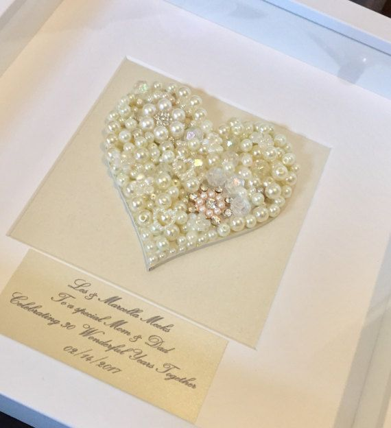 Gifts For A Pearl Wedding Anniversary: 30th Pearl Wedding Anniversary Gift Pearl Wedding