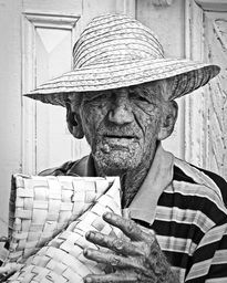 Basket Weaver By Photographic Art by Dawn