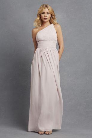 143193f87151 Rachel Chiffon One-Shoulder Bridesmaid Dress D1295MDB | Project ...