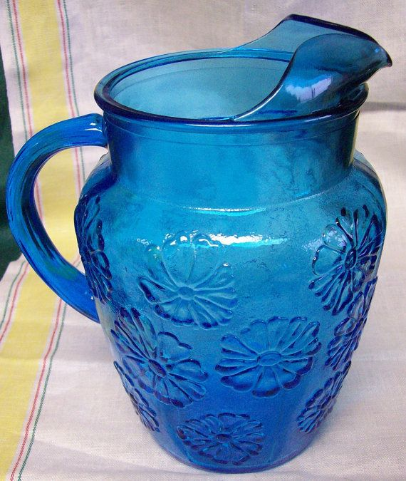 Grandma S Pitcher Vintage Mid Century Anchor Hocking Spring