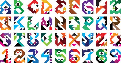 mwm graphics - triangle typeface
