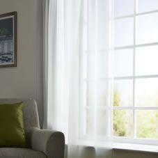 wilko slot top voile panel white 145 x 228cm citrus. Black Bedroom Furniture Sets. Home Design Ideas