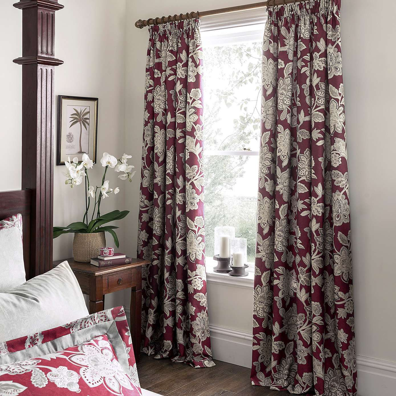 Lush Decor Lake Como Curtains Dorma Samira Red Lined Pencil Pleat Curtains Dunelm Curtain