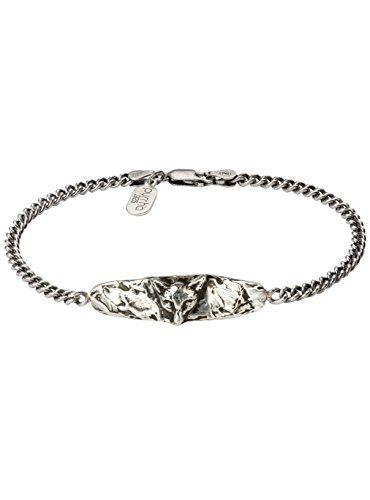 Pyrrha Men's 925 Sterling Silver Fox ID Bracelet  Price Β£165