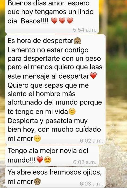 Novios Frases Cursis De Amor Textos Para Mi Novio Y