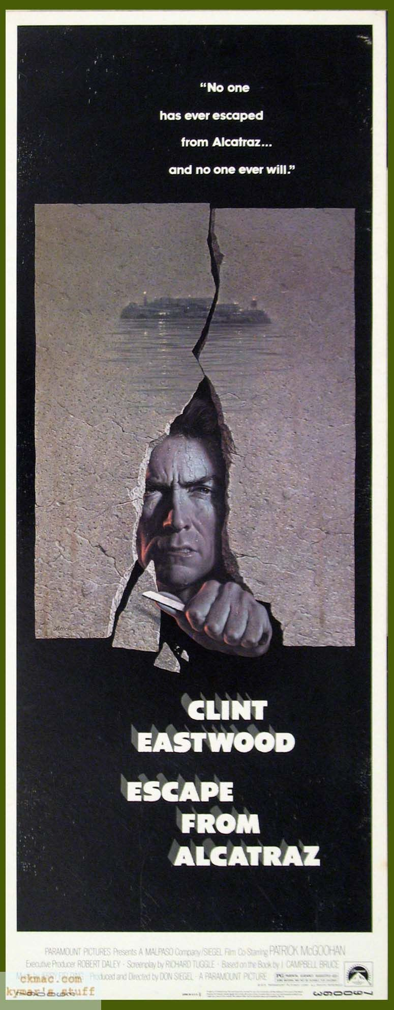 Escape From Alcatraz 1979 Dir Don Siegel Clint Eastwood