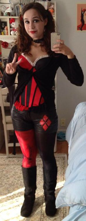 DIY Harley Quinn Cosplay Halloween! Pinterest Best Harley