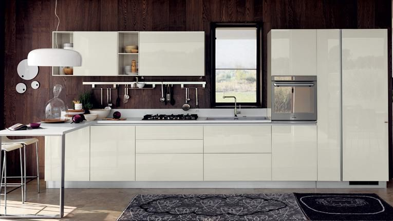 One Line Kitchens Advantages Disadvantages Examples And Pictures For Modern Kitchen Planning One Modern Kitchen Plans White Modern Kitchen Kitchen Fittings