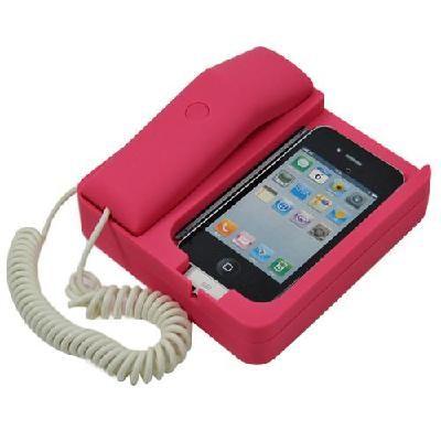 iphone 4 mobile phone holder / retro matte telephone