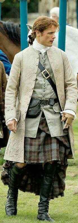 Jamie Fraser ,S2 ,LOVE THE COSTUMES♥♥♥