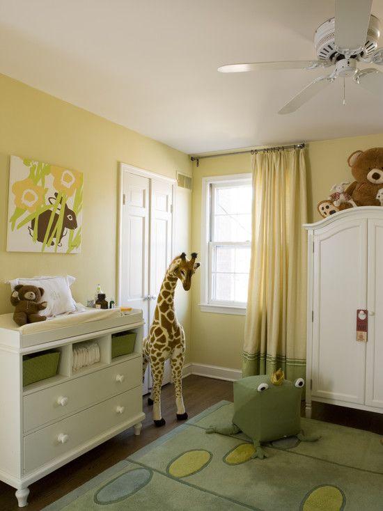 Safarifarben machen das Kinderzimmer frisch und lebendig