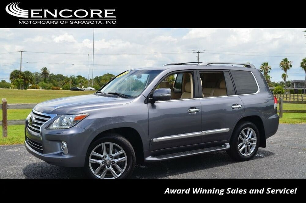 For Sale: 2014 Lexus LX 4WD 4 Door SUV W/Luxury Package and