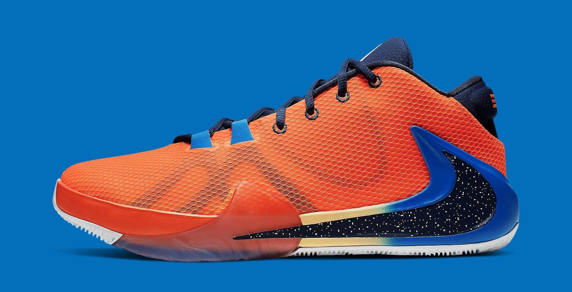 Nike Zoom Freak 1 BQ5422-800 (Lateral) | Nike, Nike zoom ...