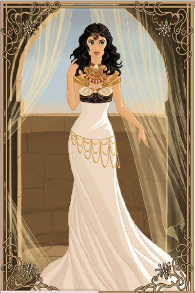 Unique Cleopatra Doll Divine Dress Up Games
