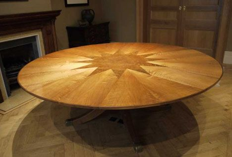 High Tech Dining Table Rotates Expands Dining Table Wooden