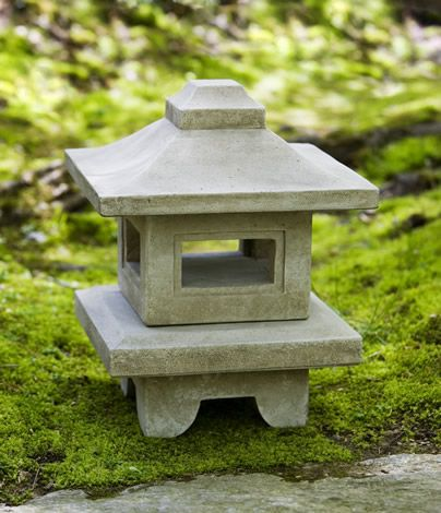 Atsumi Lantern Cast Stone Pagoda Statue Made By Campania International