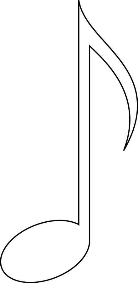 Coloriage Note De Musique Croche Note De Musique Dessin Dessin Instrument De Musique Note De Musique