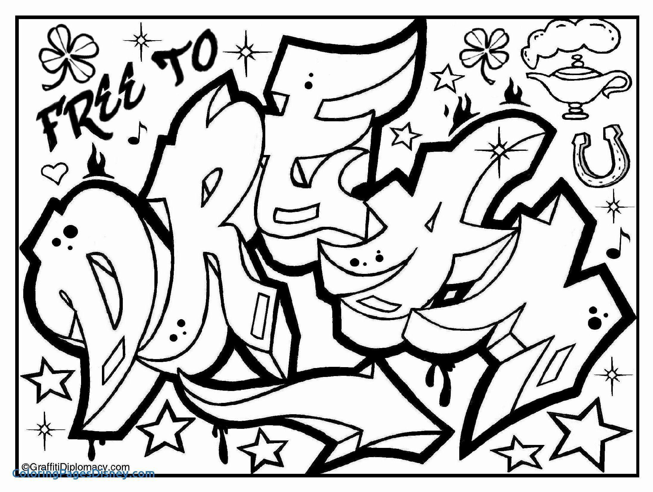 Graffiti Malvorlagen Zum Ausdrucken