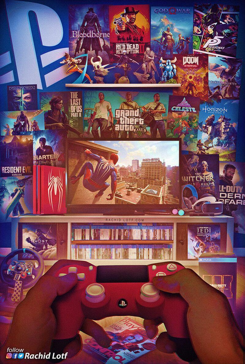 Playstation 4 - Spider Man, Rachid Lotf