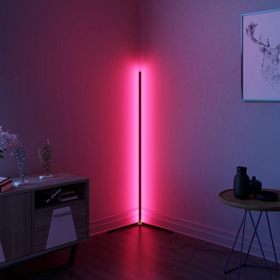 corner floor lamp led