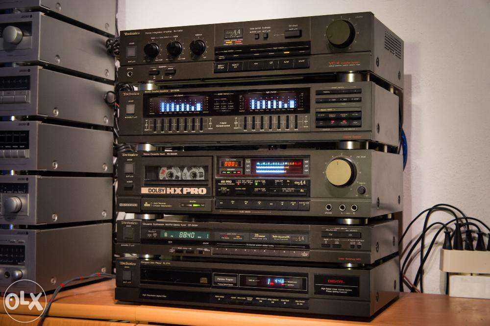Technics Sa 5l Stereo Amplifier Receiver Service Manual Wiring Parts