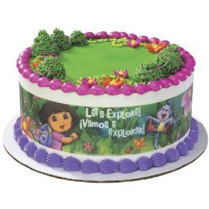 Dora the Explorer Designer Prints Edible Image