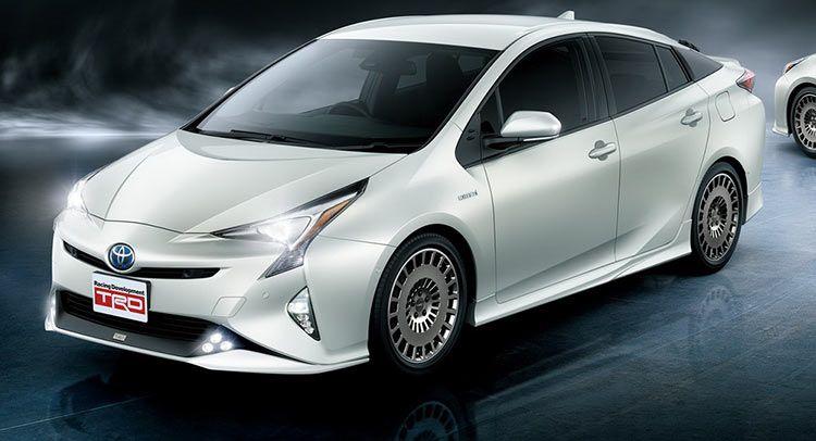 TRD Enhances New Toyota Prius With Some JDM Goodies