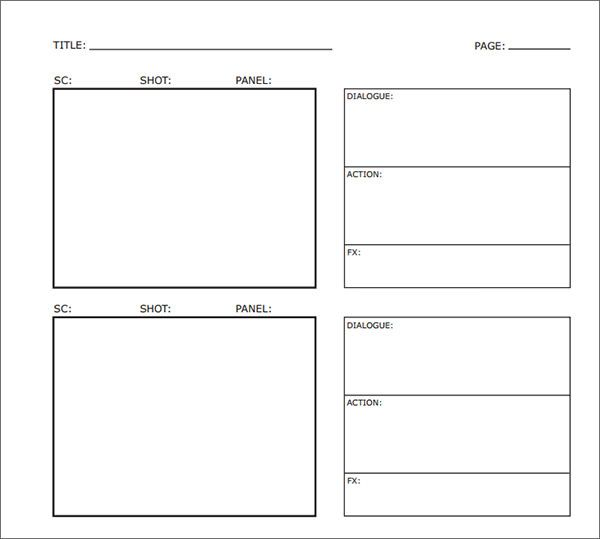 Sample Free Storyboard   Documents Download In Pdf Word Ppt