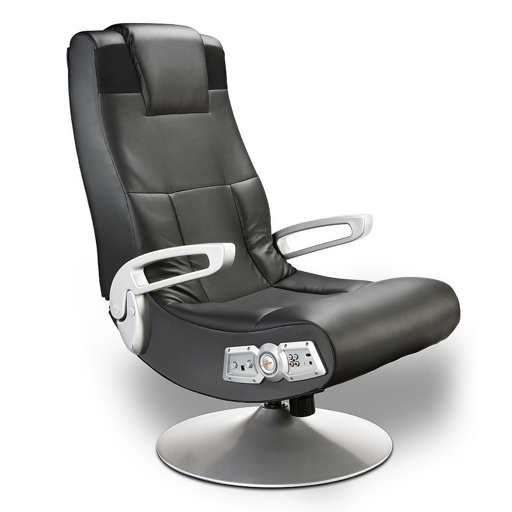 Office Chair Pedestal Stokke High Baby Bunting X Rocker Wireless Sound Gaming Products Black