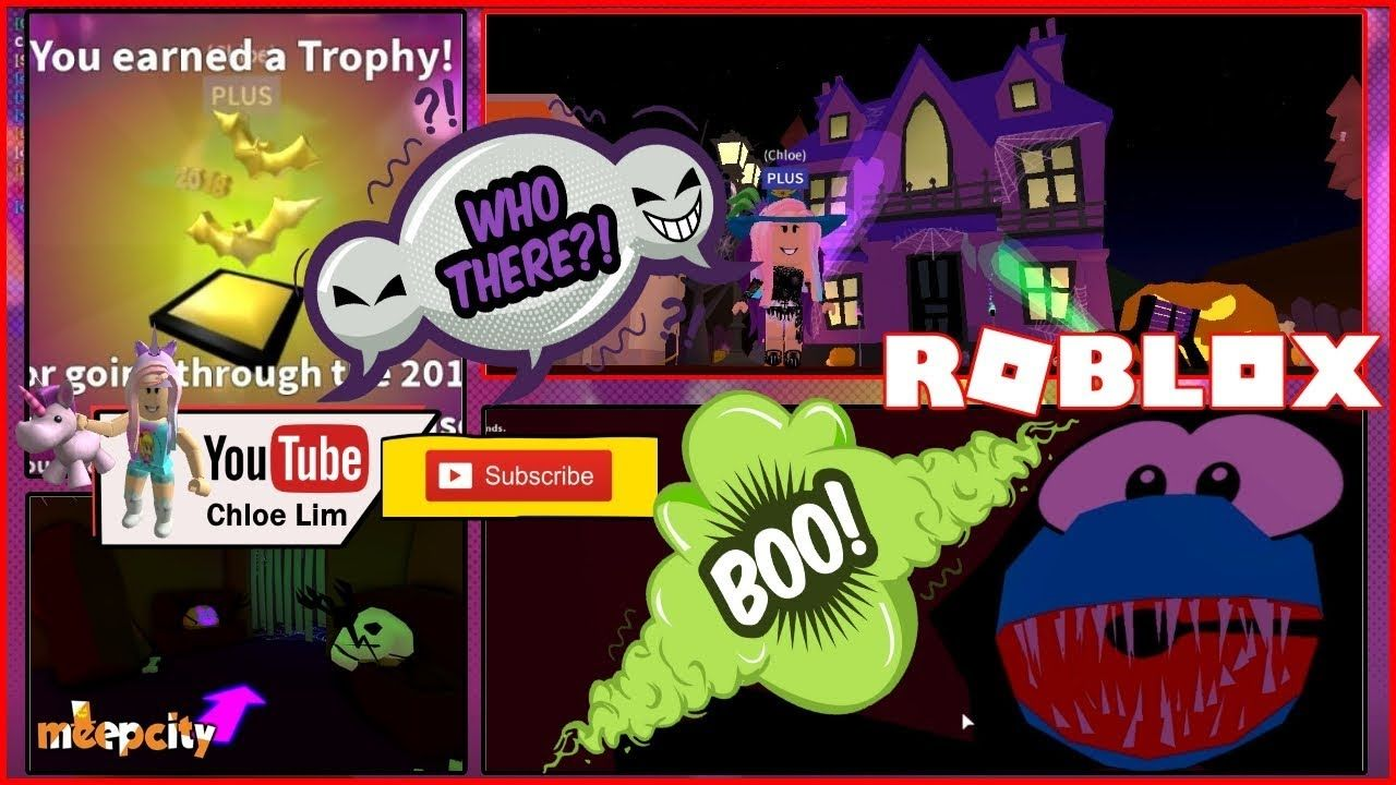 Roblox Meepcity Haunted House Glitch Into House S Candy Giver
