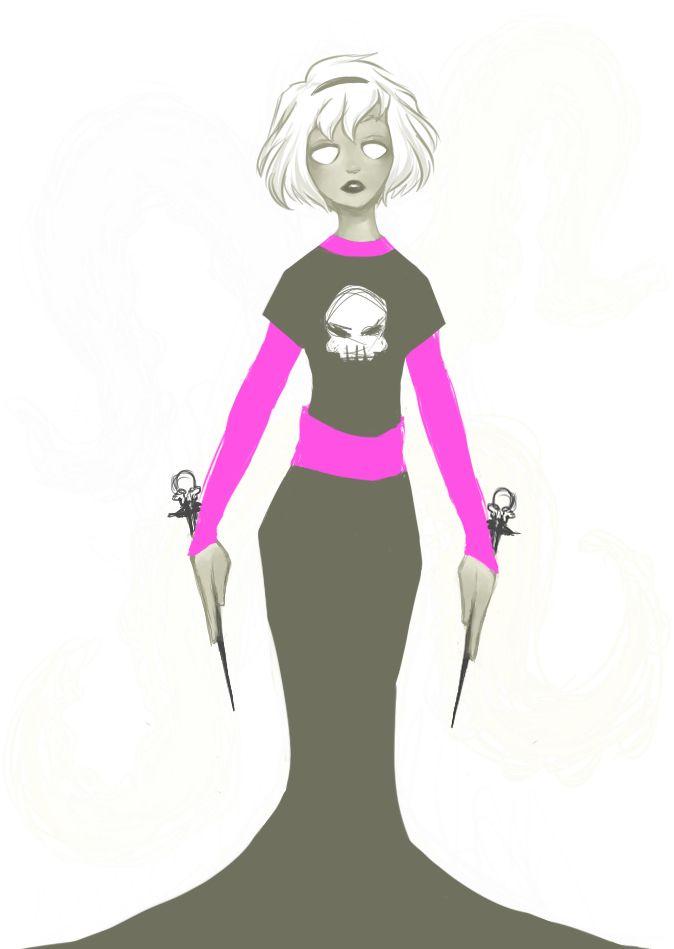 Grimdark!Rose Lalonde