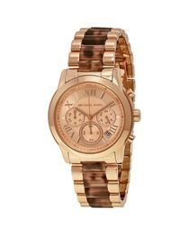 MK6155 Stainless Steel Watch - Gold/Brown