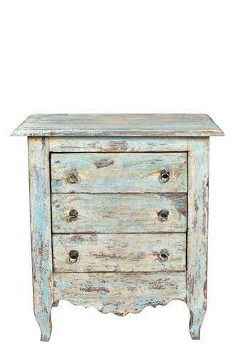 Landelijk nachtkastje brocante kleinmeubelen brocante meubels ook in vintage en retro - Kleur idee entreehal ...