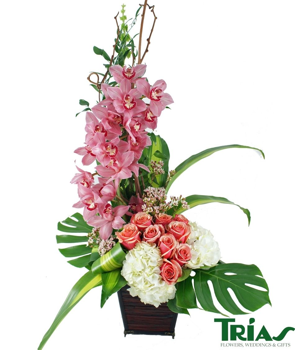 flower arrangements orchids - Pesquisa Google