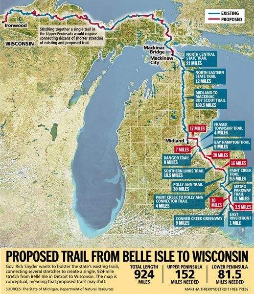 Snyder Unveils Proposal To Connect Belle Isle Wisconsin With Bike