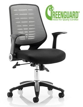 Executive Mesh Office Chair Linen Sirocco Chairs