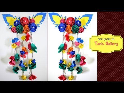 Pin By Diy Tanis Gallery On Craft Ana Foam Sheet Crafts Wall Hanging Diy Crafts