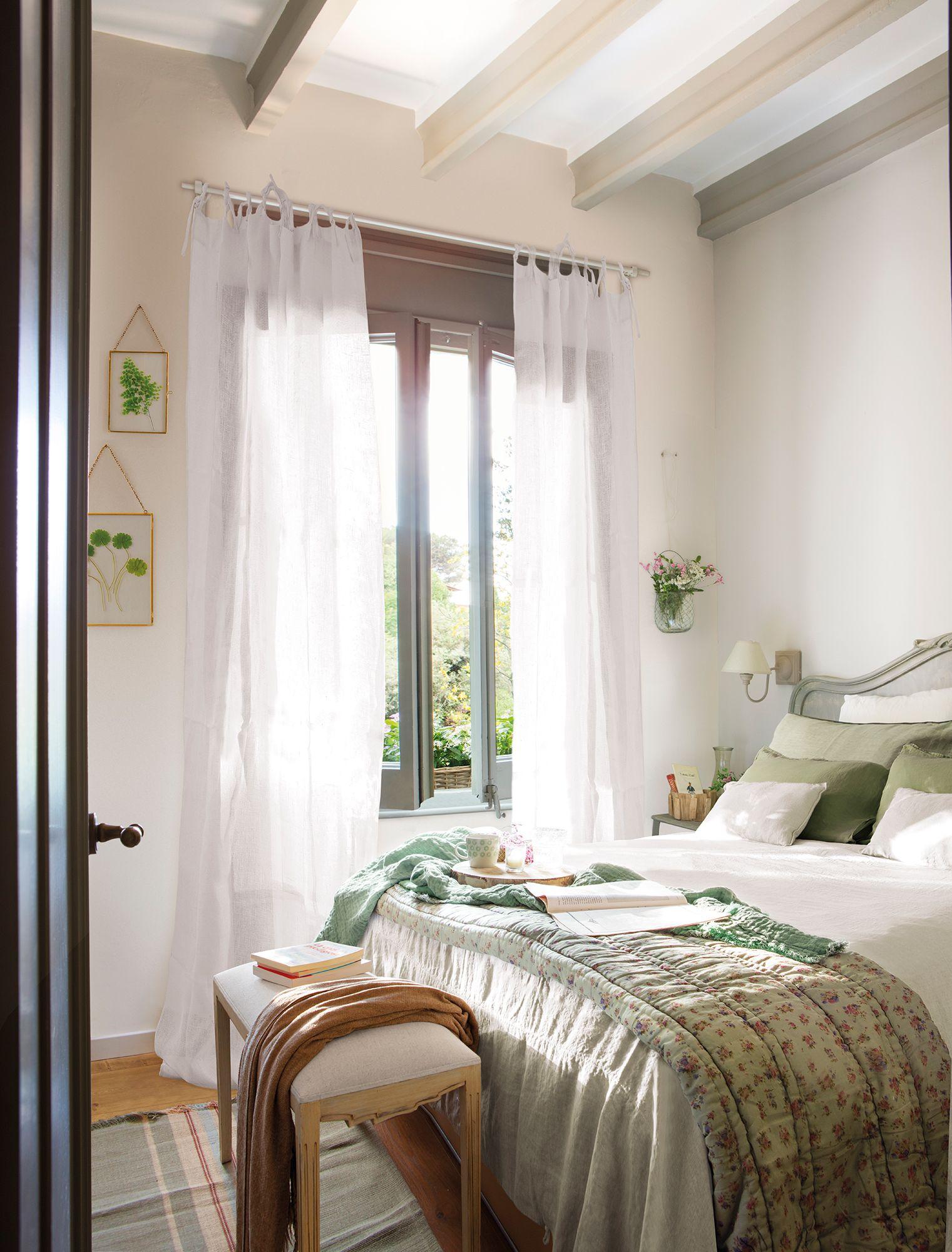 50 buenas ideas para lograr una casa perfecta banquetas for Casas estilo romantico